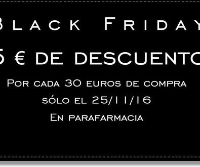 ¡Black Friday!