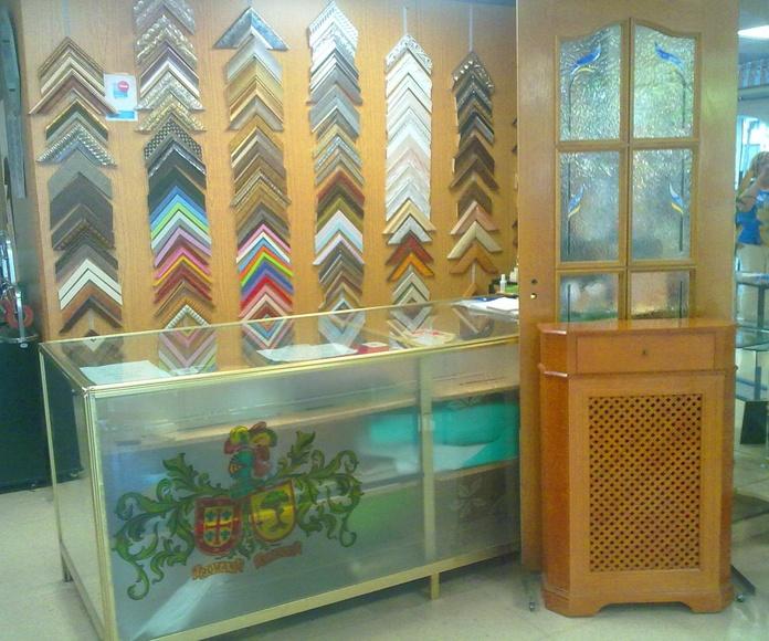 Enmarcaciones: Productos de Cristalería Román