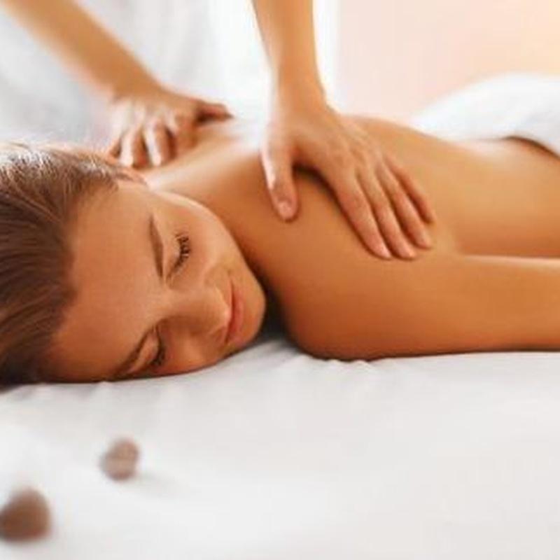 Servicio de masajes
