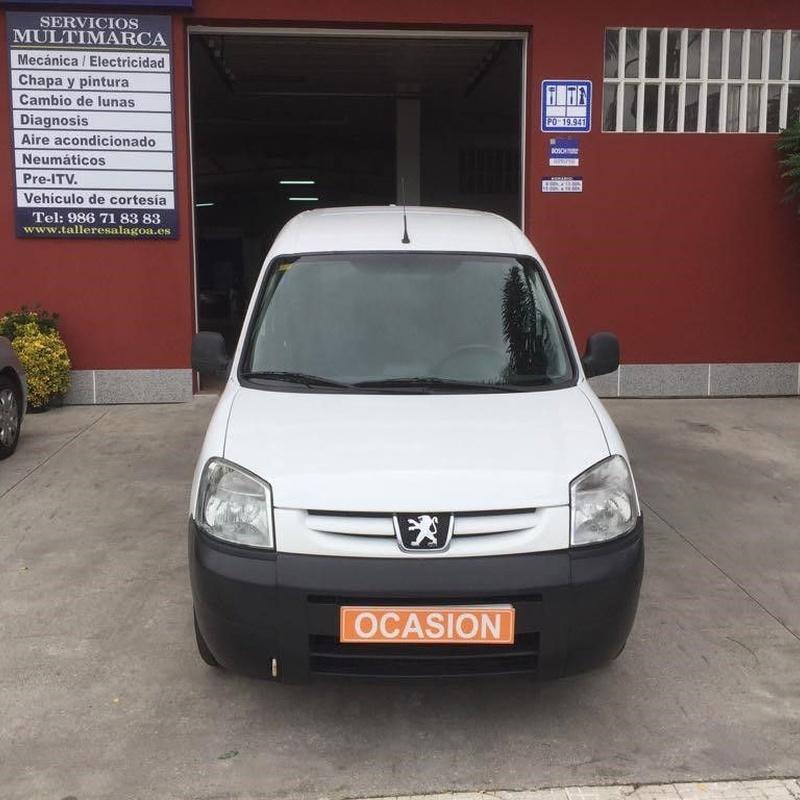 Peugeot Partner 1.9D 71CV: Vehículos de ocasión de OCASIÓN A LAGOA