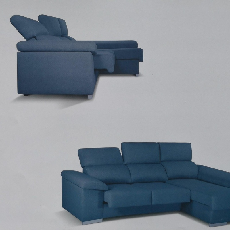 Chaise Longue Mahon GA 265x160 Deslizantes y Reclinable Desde 525€