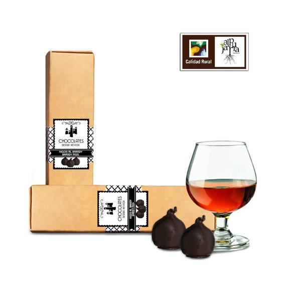 Higos al brandy: Nuestros productos de Chocolates Sierra Nevada