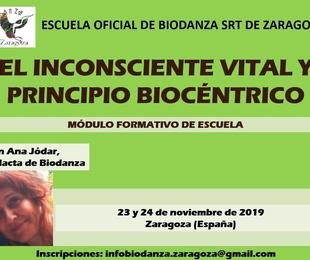 Módulo de Formación 'El Inconsciente vital y Principio Biocéntrico'
