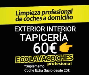 Ext Int Tapicería 60€ / Indícanos Dirección Dia Hora y vemos disponibilidad