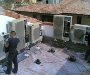 Reparación y mantenimiento de aire acondicionado y climatización