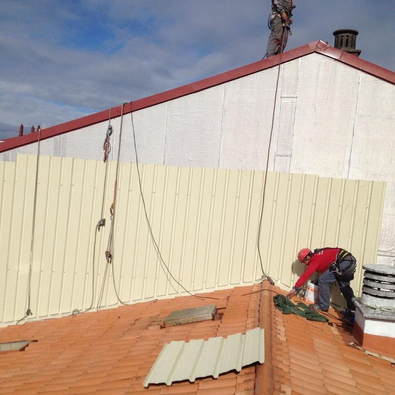 Panel sándwich, cubiertas y fachadas: Nuestros Servicios de Sergama Reparaciones de Altura