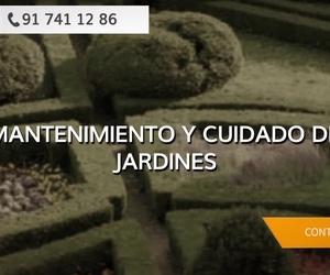 Mantenimiento de jardines Las Tablas, Madrid
