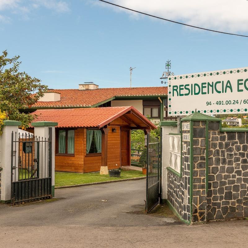 Servicios adicionales: Servicios de Residencia Eguzki