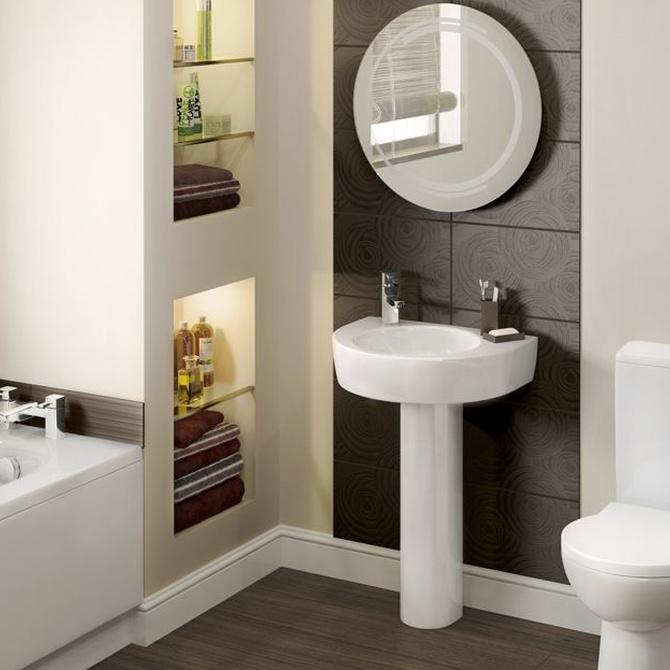 Cómo poner orden en un baño de pequeño tamaño