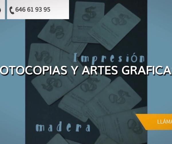 Hacer fotocopias en La Puebla de Alfindén: Singul@r Artes Gráficas