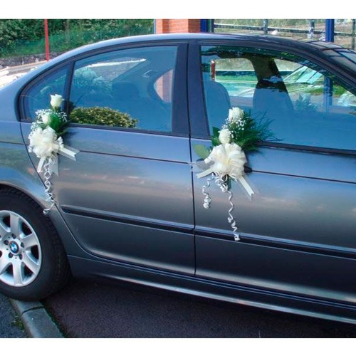 Decoramos coches de boda