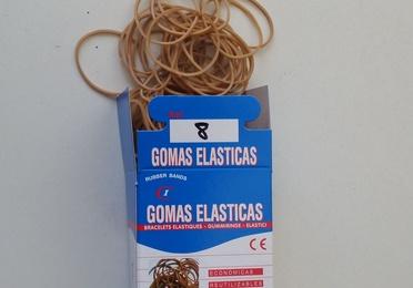 Cajas Gomas Elásticas de 100 Gr