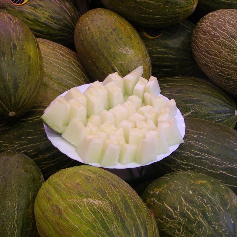 El melon en Frutas Isabel