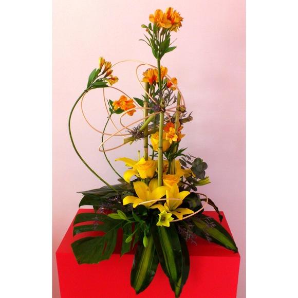 Arreglos florales : Catálogo de Arte y Jardín