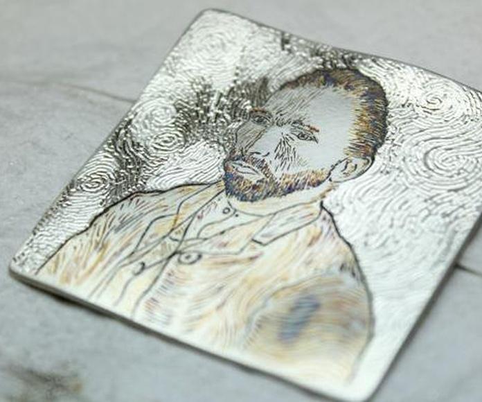 "Vincent van Gogh ""Autoretrato"""