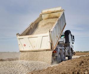 Transporte de áridos y materiales de construcción