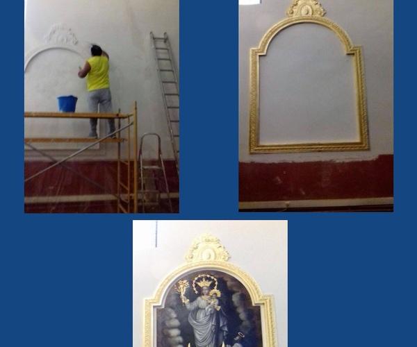 Trabajo realizado por uno de nuestros clientes con materiales realizados en nuestro taller de encargos.