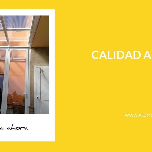 Carpintería de aluminio y PVC Aljaraque | Aluminios y PVC La Raya