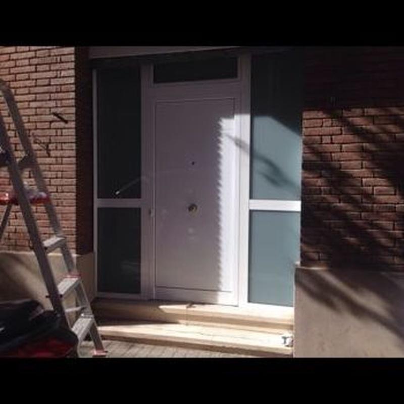 Trabajos en PVC: Carpintería de aluminio de Carpintería de Aluminio Alberto Mellado