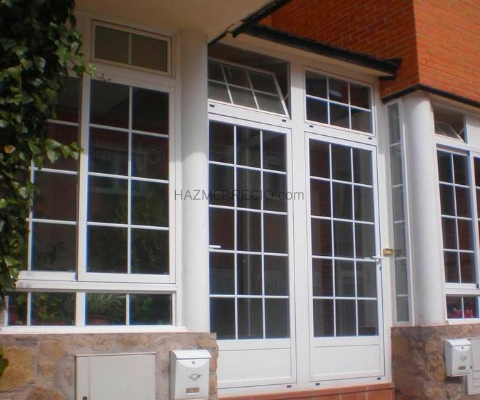 Instalación de todo tipo de ventanas y barandillas: Servicios de Jorge Pinturak Margoak S.L.U.