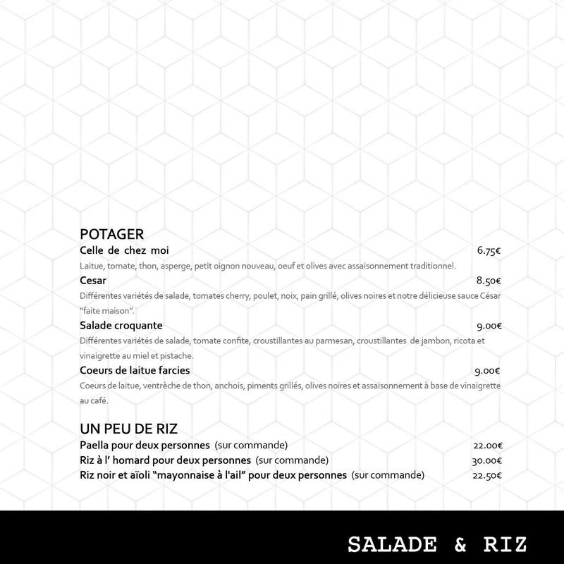 Salade & Riz.
