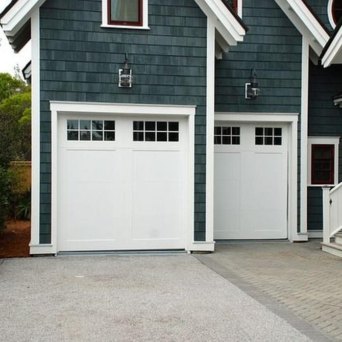 Tipos de puertas seccionales