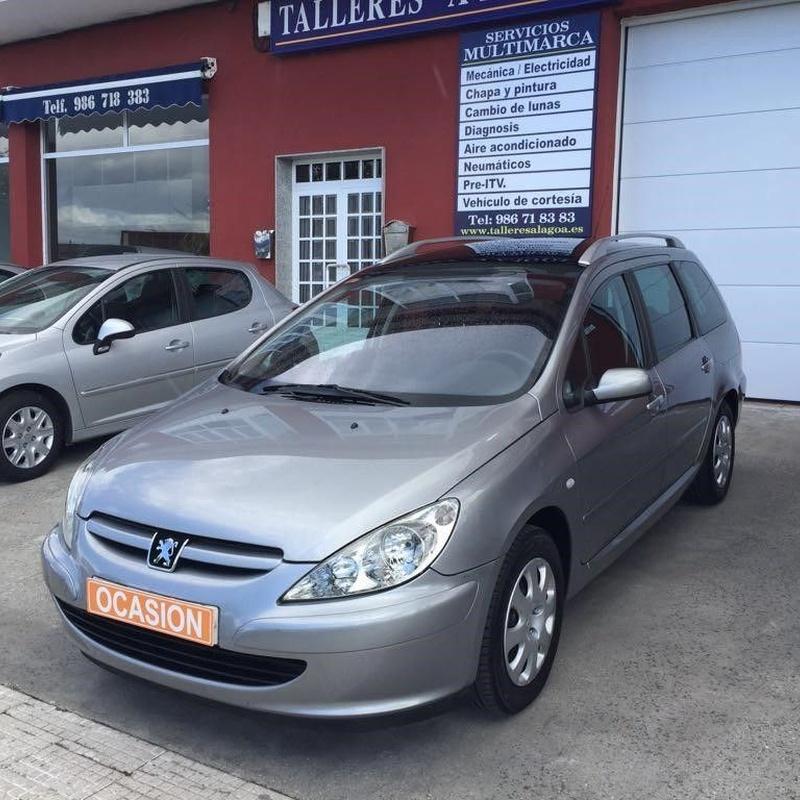 Peugeot 307 2.0Hdi 90Cv Plazas 6+1: Vehículos de ocasión de OCASIÓN A LAGOA