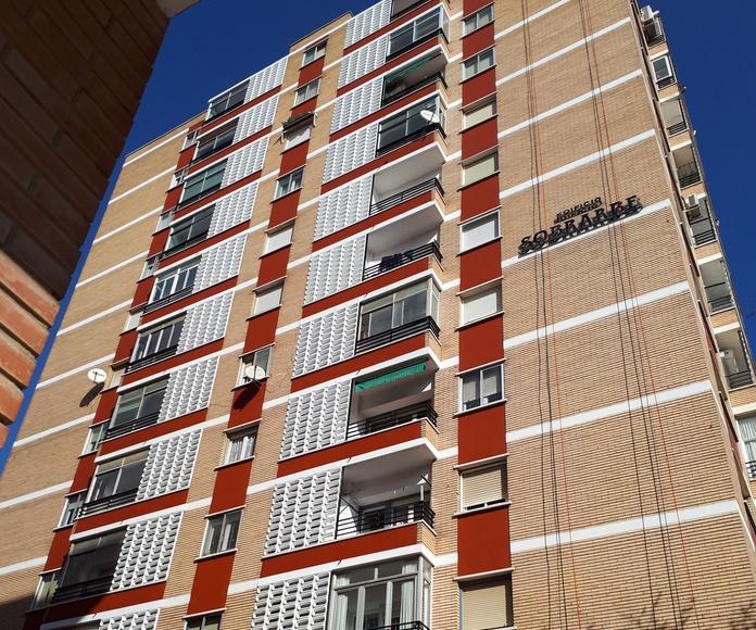 Aplicación de pintura: Servicios de Soluciones Verticales Zaragoza