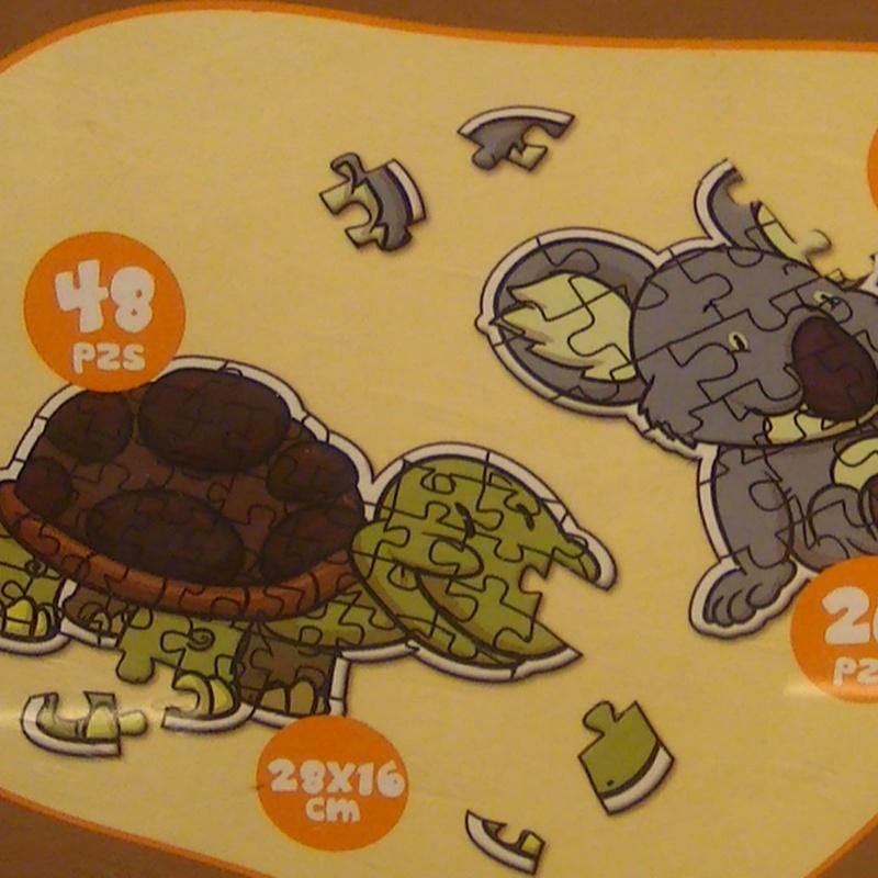 PUZZLE 3D ANIMALES TIERRA