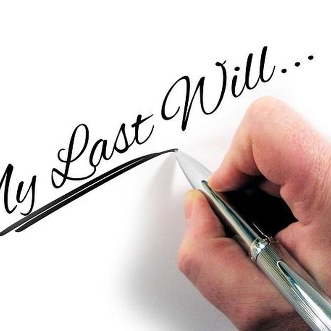 Ventajas de hacer testamento