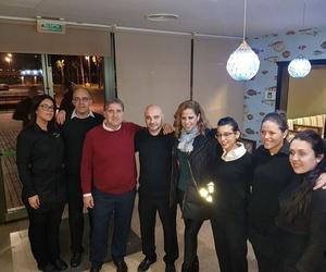 Visita de Pastora Soler y su equipo