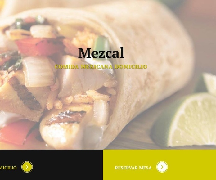 Pedido a Domicilio: Carta de Restaurante Mezcal