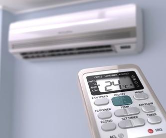 Climatización de oficinas y locales comerciales: Servicios de Instalaciones Electroguer