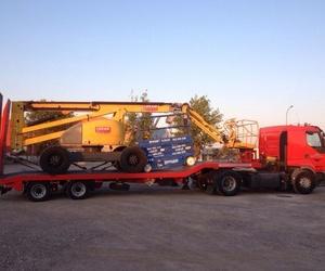 Transporte de maquinaria pesada en Madrid