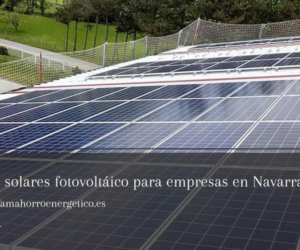 Ahorro energético en Navarra | Solarfam Instalaciones Fotovoltaica
