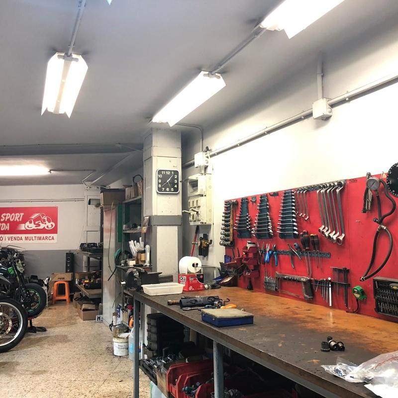 Taller: Motos de Moto Sport Lleida