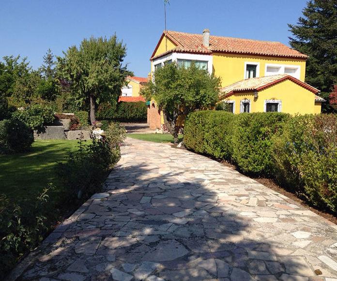Jardines en Valladolid