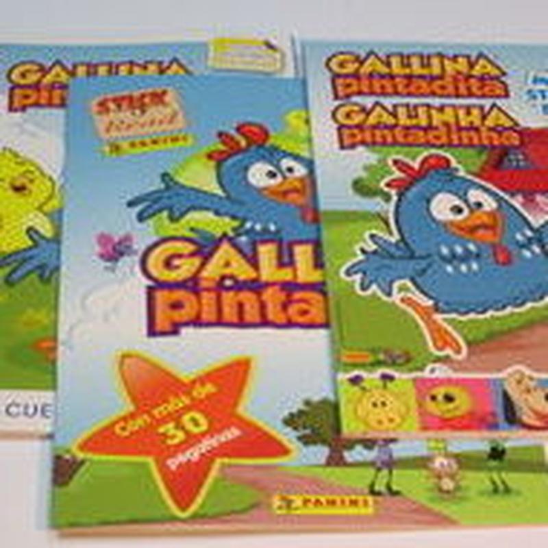Pegatinas de la Gallina Pintadita