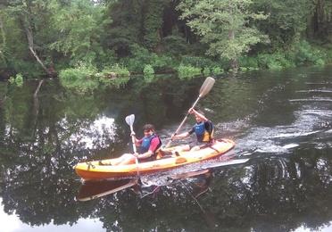 Ruta en Kayak por el río Miño