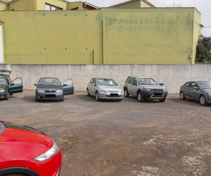 Exposición vehículos patio CAR PLUS CANARIAS