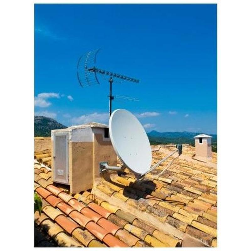 Antenas terrestres: Productos y servicios de Tecnisat Telecomunicaciones, S.L.