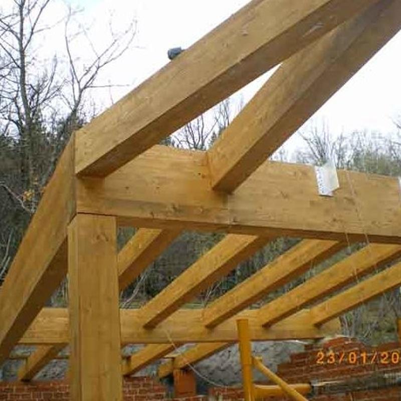 Estructura de madera Cercedilla