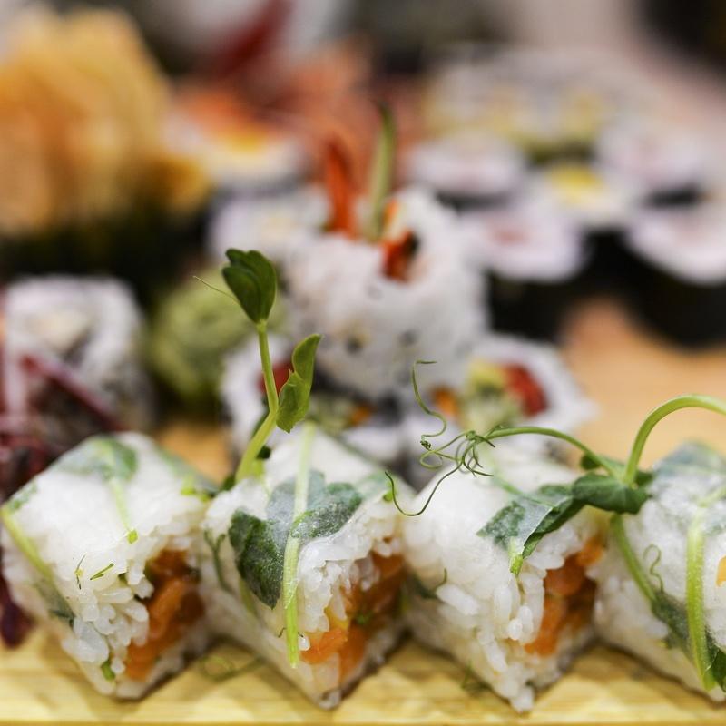 Rollos especiales: Carta de Mr. Sushi
