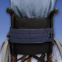 Cinturón abdominal para silla de ruedas
