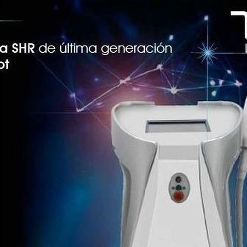 Depilación láser SHR e IPL: Nuestros servicios de D- Fonsu Peluquería Y Centro de Estética