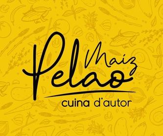Catering: Servicios, carta y menús de Restaurante Maiz Pelao