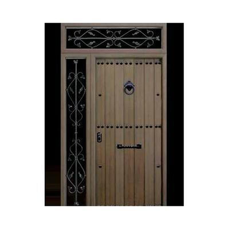 Puertas de calle: Catálogo de Carpintería de Aluminio y PVC Alcaman