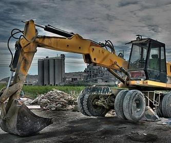 Movimientos de tierra: Catálogo de Excavaciones y Derribos Juanma Ramos