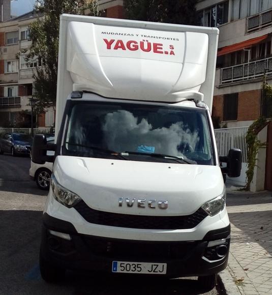 EXPOSICIONES: SERVICIOS  de Mudanzas Yagüe              914047413