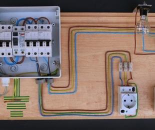 Partes del cuadro eléctrico